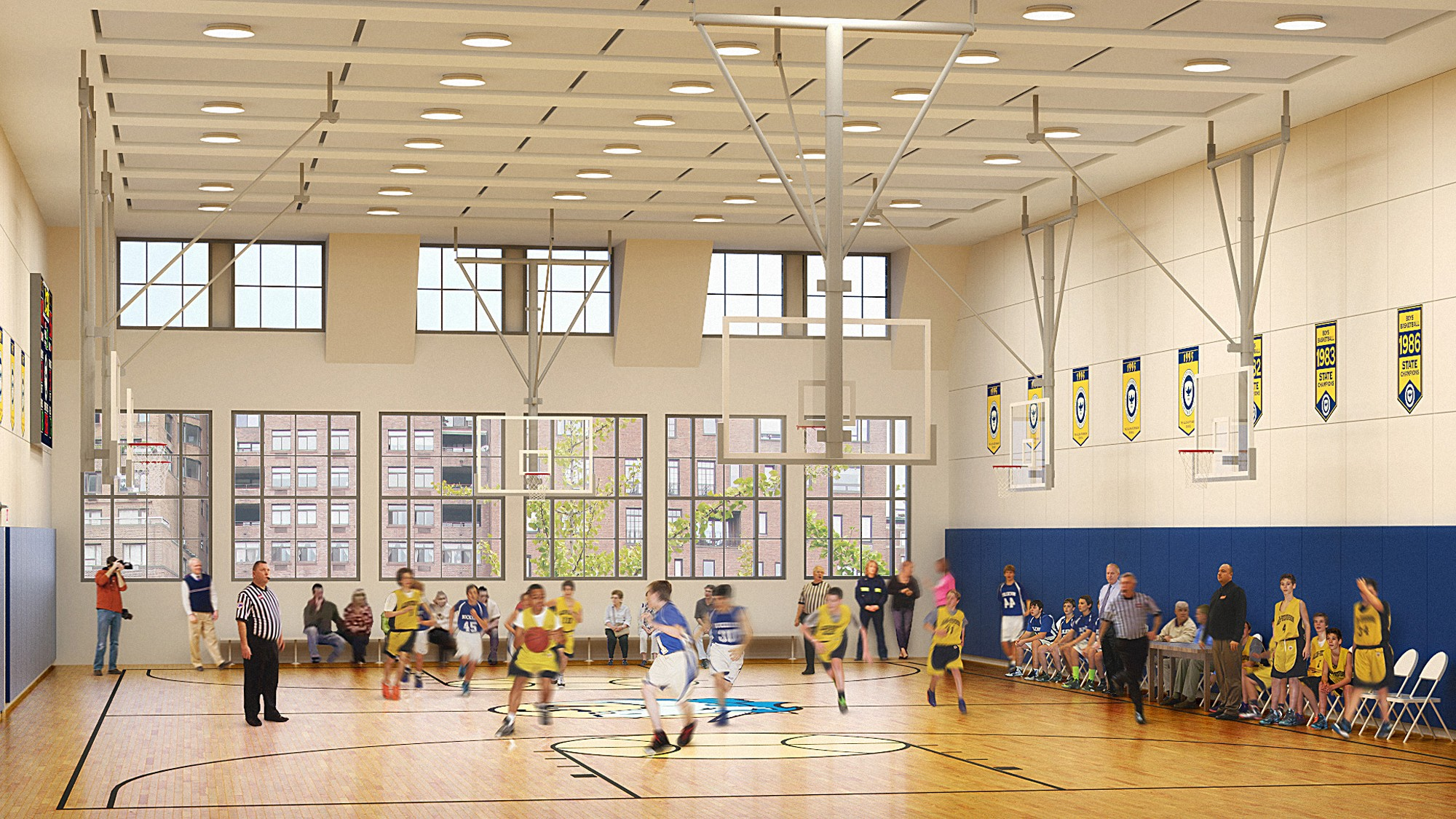 Allen-Stevenson_School_gym