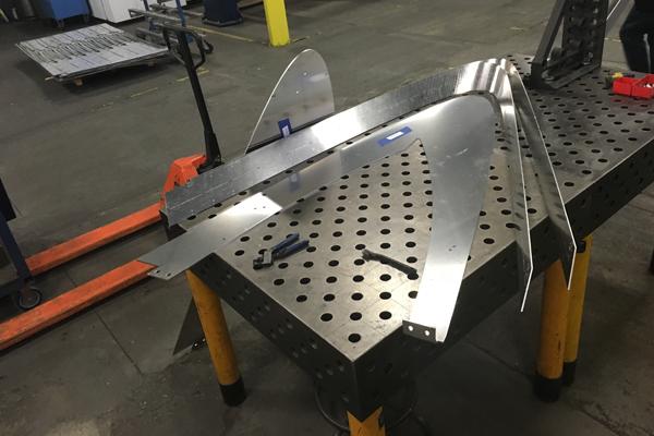 Aluminum canopy fin