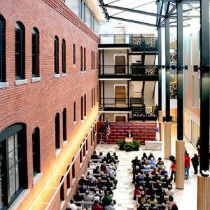 UMass Amherst South College Atrium