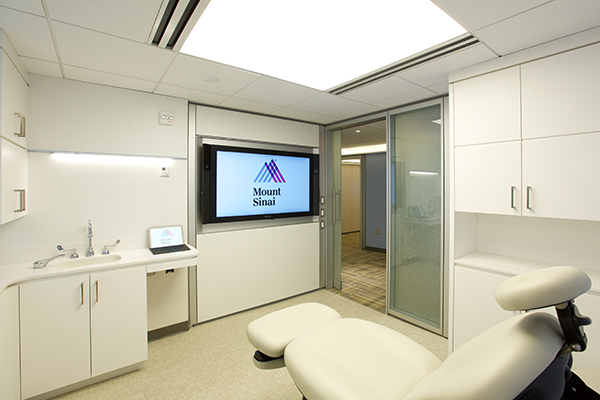 Mount Sinai Plastic Surgery Exam Room