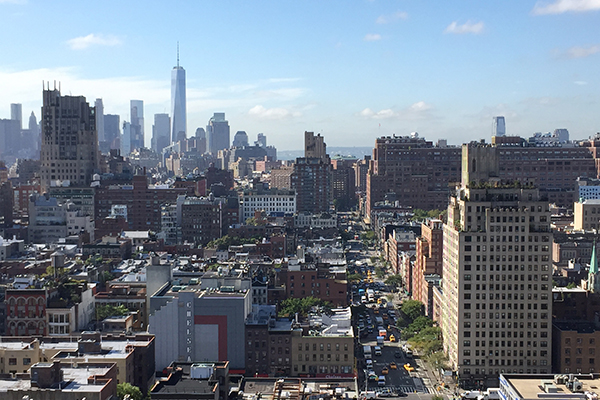 New York City Skyline in Chelsea