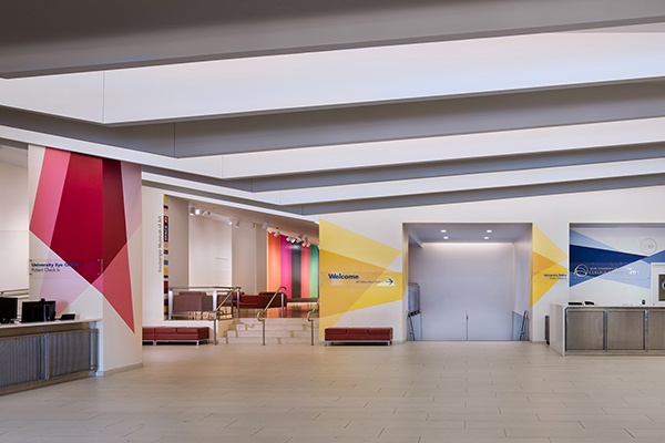 SUNY College of Optometry Lobby