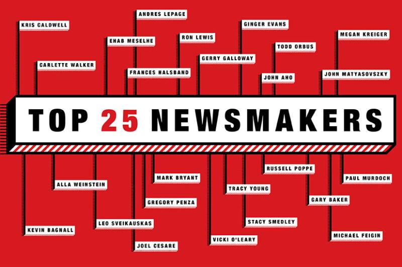 ENR 2018 Top 25 Newsmakers